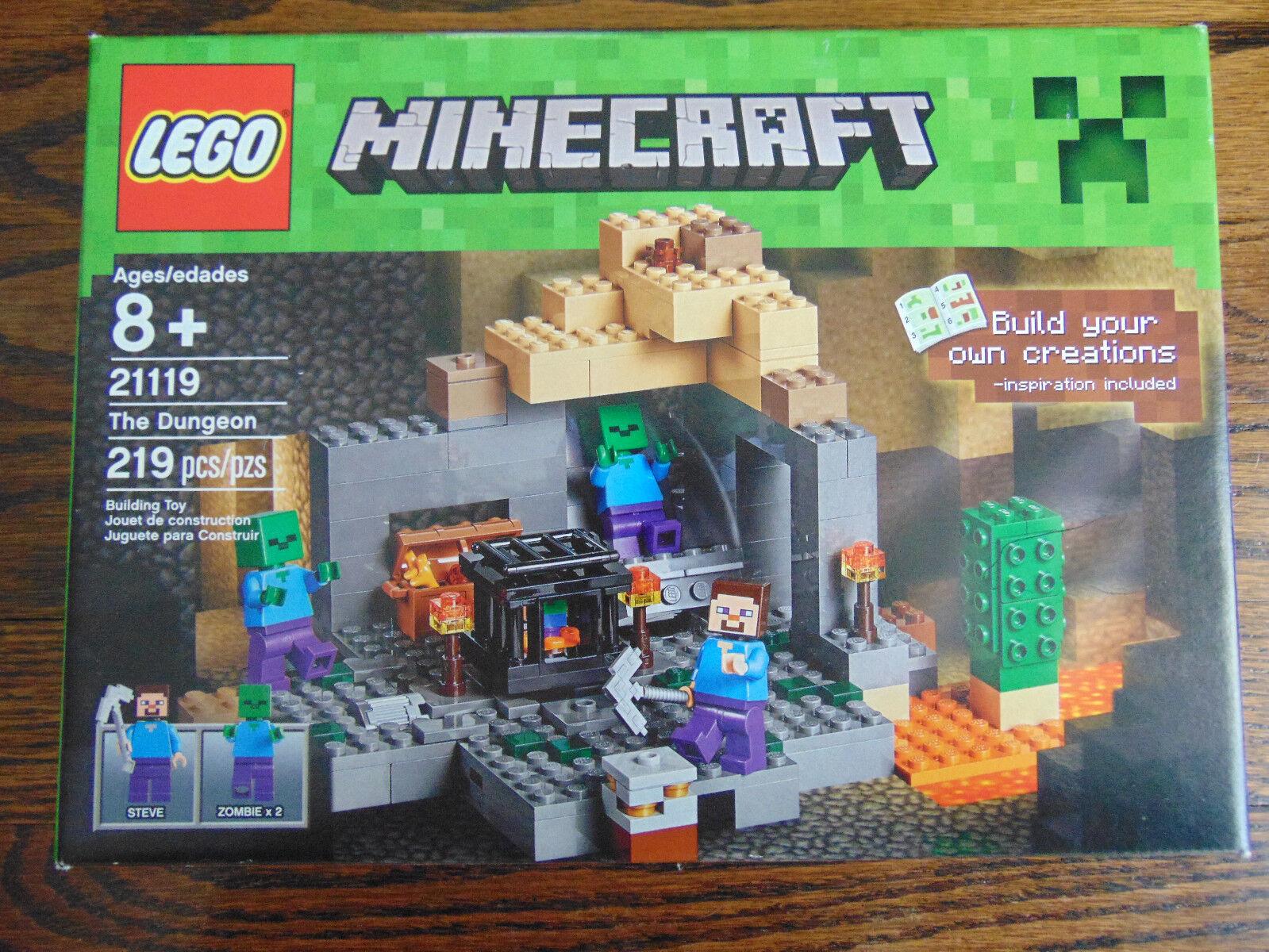 LEGO 21119 MINECRAFT MINECRAFT MINECRAFT THE DUNGEON 219pcs. AGES 8+ NEW SEALED fc777c