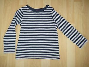 Girls-Aged-4-Years-Grey-Blue-Striped-Top-from-Next