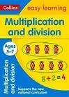 Multiplication and Division Ages 5-7 by Peter Clarke, Collins Easy Learning (Paperback, 2015)