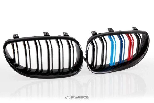 SALBERK schwarz hoch glänzende Nieren BMW 5er E61 Touring M5 6001DLF M Farben
