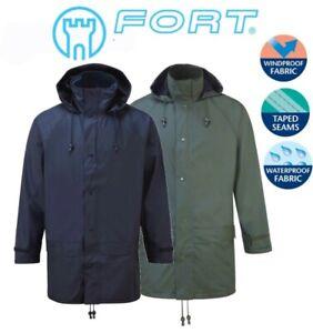 Fort-Flex-Impermeable-Chaqueta-Con-Capucha-a-Prueba-de-Viento-Silenciosa-Durable-Forrado-Comodidad