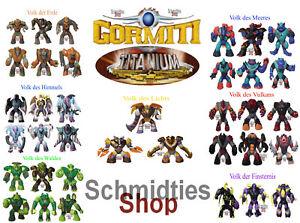 Gormiti Titanium Wählen Sie ihre Figuren!