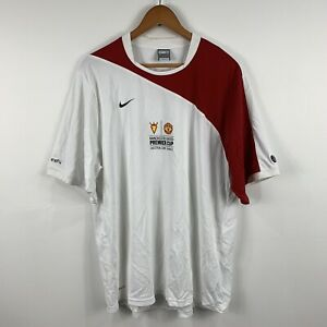 Nike-Manchester-United-Premier-Cup-Soccer-Football-Jersey-Size-XL-Short-Sleeve