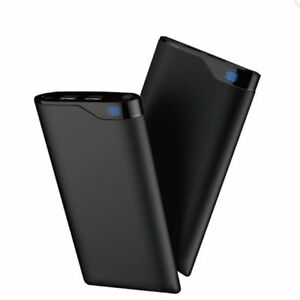 10000mah Portable Dual USB Power Bank External Battery Charger for Cell Phone