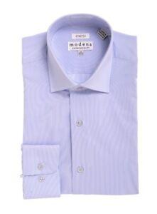 Blu Aperto Uomo Collo Collo Aperto Blu Uomo Camicia Collo Uomo Camicia Blu Camicia 80mNwn