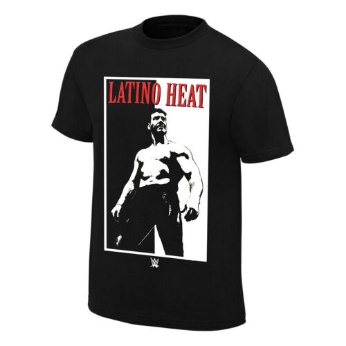 """Eddie Guerrero /""""Addicted to the Heat/"""" Retro T-Shirt Official WWE"""