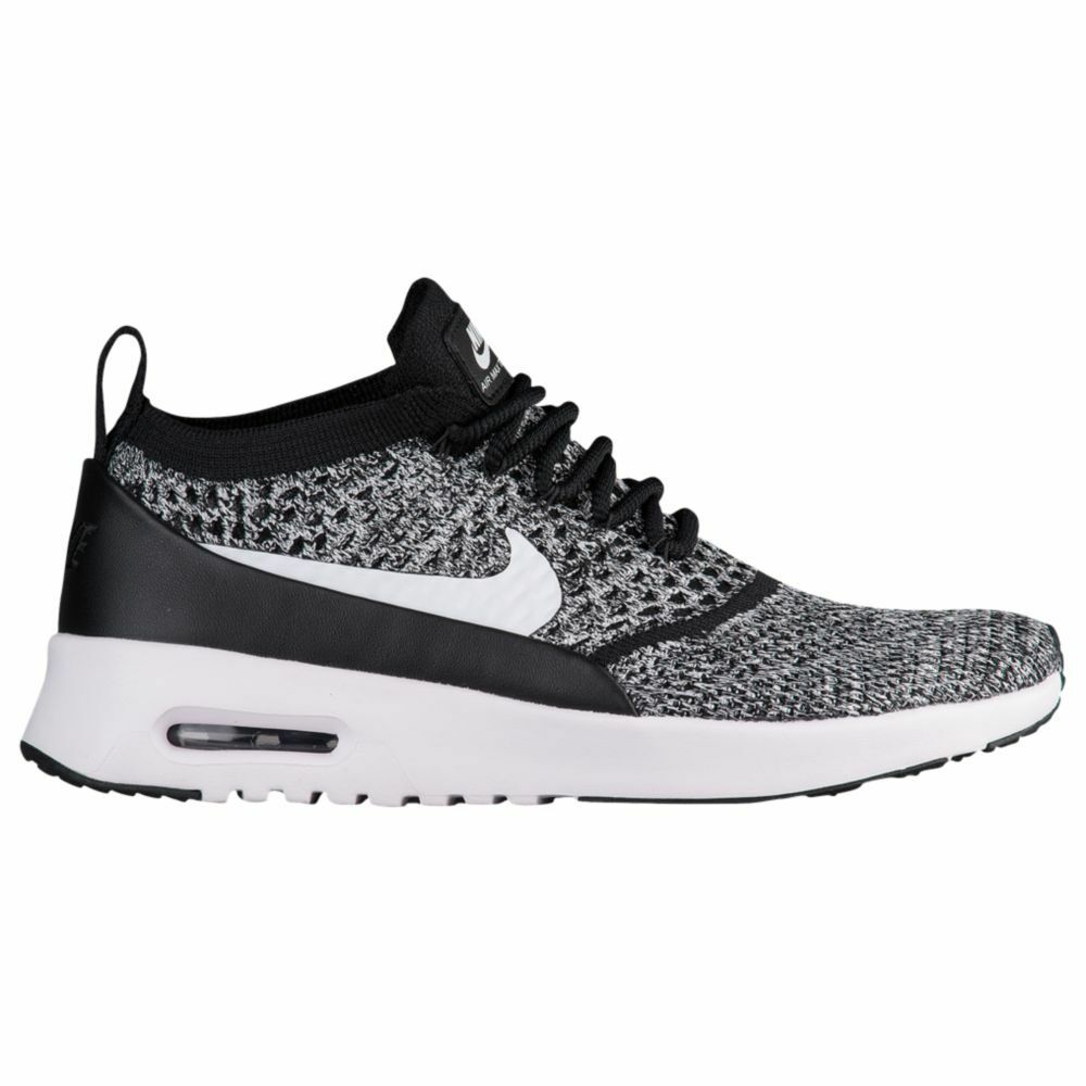 Nike Air Max Thea Ultra Flyknit Womens 881175-001 Black White shoes Size 10