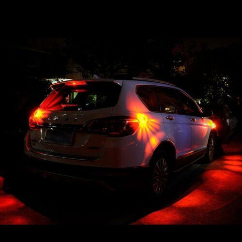 4x LED Warnleuchte Magnet Auto Warnblinkleuchte Notfall Blinklicht Notlicht Not
