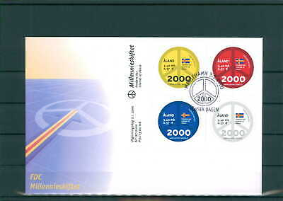 Briefmarken 200982 Aland Fdc Aus 2000 Siehe Beschreibung