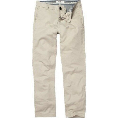 98/% Coton-Bnwt Fat Face-Femme-Chartwell Chino-Naturel