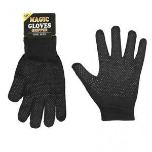 3/6/12 Paires De Hommes De Magie Full Finger Gripe Gants En Noir Standard Taille Adulte Un Enrichit Et Nutritif Pour Le Foie Et Les Rein