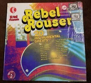 Vintage-1976-K-TEL-PRESENTS-034-Rebel-Rouser-034-LP-K-TEL-CSPS-1192-NM