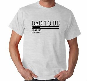 bc9a53c53 DAD TO BE LOADING PLEASE WAIT   Gift for New Dad   Baby Announcement ...