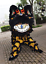 Black-Lion-Dance-Mascot-Costume-Suit-Chinese-Folk-Art-Wool-Southern-Two-Adults thumbnail 2