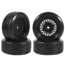 4pcs RC 1:10 Drifting Tires Tyre & Wheel Rim For HSP HPI 1/10 On-Road Racing Car