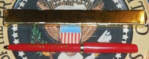 First-Lady-Nancy-Reagan-Gift-Pen-with-Box