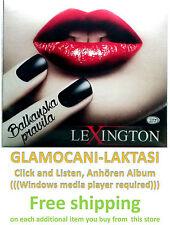 CD LEXINGTON BAND - BALKANSKA PRAVILA album 2014 serbia croatia city records