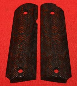 Colt-Firearms-Full-Size-1911-Government-Commander-Grips-Snake-Skin
