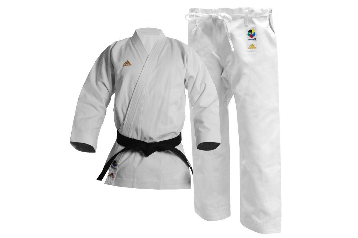 Adidas Champion WKF Karate Suit 17oz Gi Japanese European Adult Uniform