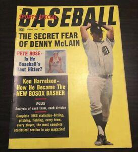 1969-Baseball-Sports-Special-Magazine-MICKEY-MANTLE-HANK-AARON-WILLIE-MAYS-HOF