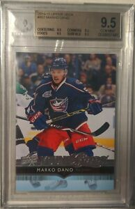 2014-15-Marko-Dano-Young-Guns-BGS-9-5-Columbus-Blue-Jackets
