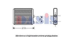 Scambiatore-Calore-Radiatore-Riscaldamento-Opel-Meriva