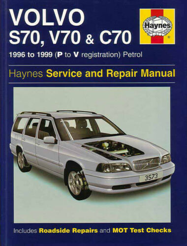 SHOP MANUAL SERVICE REPAIR BOOK S70 V70 C70 VOLVO HAYNES CHILTON WORKSHOP GUIDE