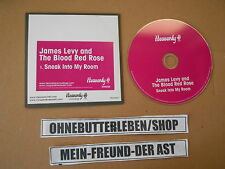 CD Pop James Levy / Blood Red Nose - Sneak Into My Room (1 Song) MCD HEAVENLY