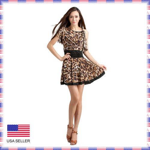 SGD19AP New Women Ballroom Latin Rhythm Salsa Swing Country Dance Dress