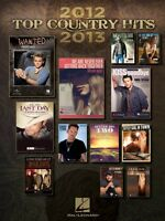 Top Country Hits Of 2012-2013 Sheet Music Piano Vocal Guitar Songbook 000118291