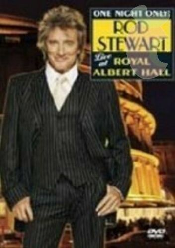 1 of 1 - Rod Stewart - Live At Royal Albert Hall...DVD...REG 4...as NEW