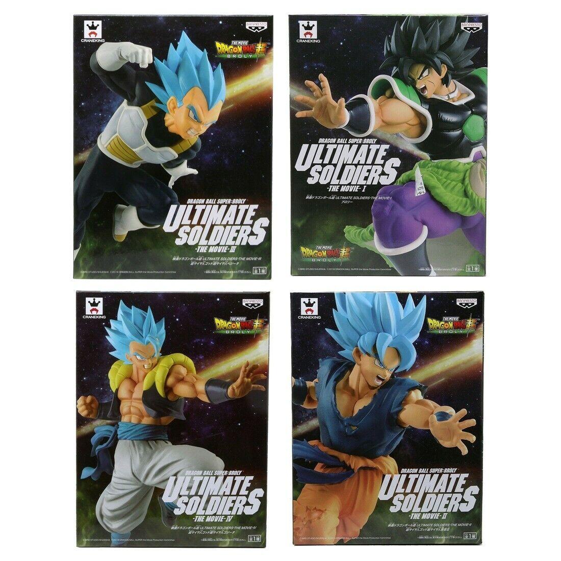 Banpresto Dragon  Btutti Super The Movie Ultimate Soldiers The Movie Set  essere molto richiesto