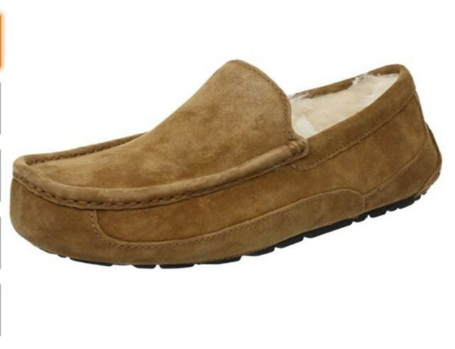 d0c312a825d UGG Men's Ascot Casual Comfort Suede SLIPPER Loafers Chestnut 5775 12