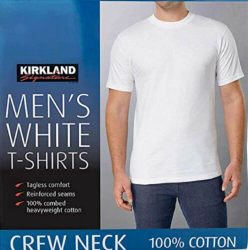 Kirkland  Men 5 Pack Crew Neck T-shirts/undershir… - image 1