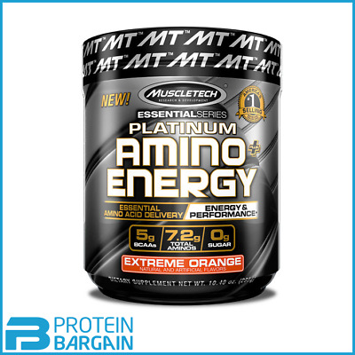 MuscleTech Platinum Amino Energy BCAA 30 Servings - Great Price, Free Delivery!