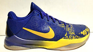NIKE-ZOOM-KOBE-BRYANT-V-5-RINGS-10-5-MIDWEST-GOLD-CONCORD-386429-702-LA-LAKERS-4