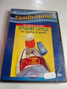 DVD STUART LITTLE UN TOPOLINO IN GAMBA