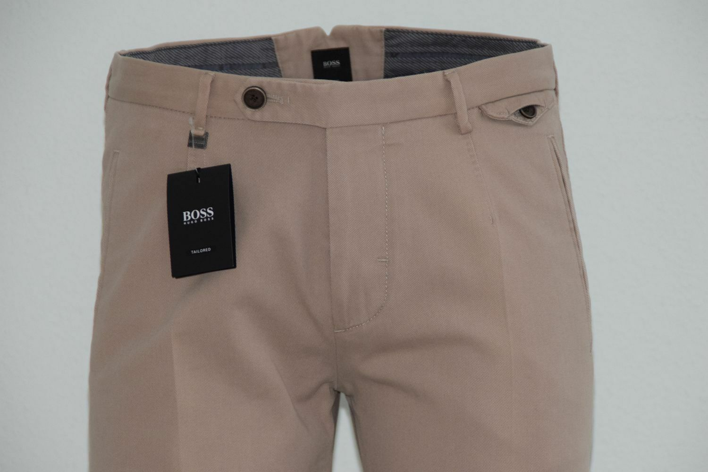 Hugo BOSS tailored Pantaloni, Mod. T-Rice 2-3-w, Tg. 94, MEDIUM BEIGE