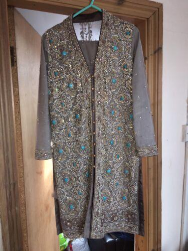 da Asian Kameez vestito abito indiano pakistano sposa OBvqfpnB