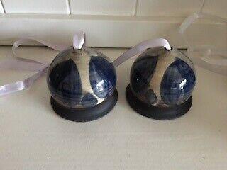 Keramik Klokker - 2 sæt