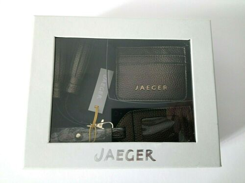 Ladies Set Leather JaegerNuovi P regalo tag 2 Accesories pezzi gratis 8ymNv0nwO