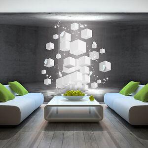 3d Tapeten foto wandbild fototapete tapeten tapete quadrat 3d kunst wand weiss