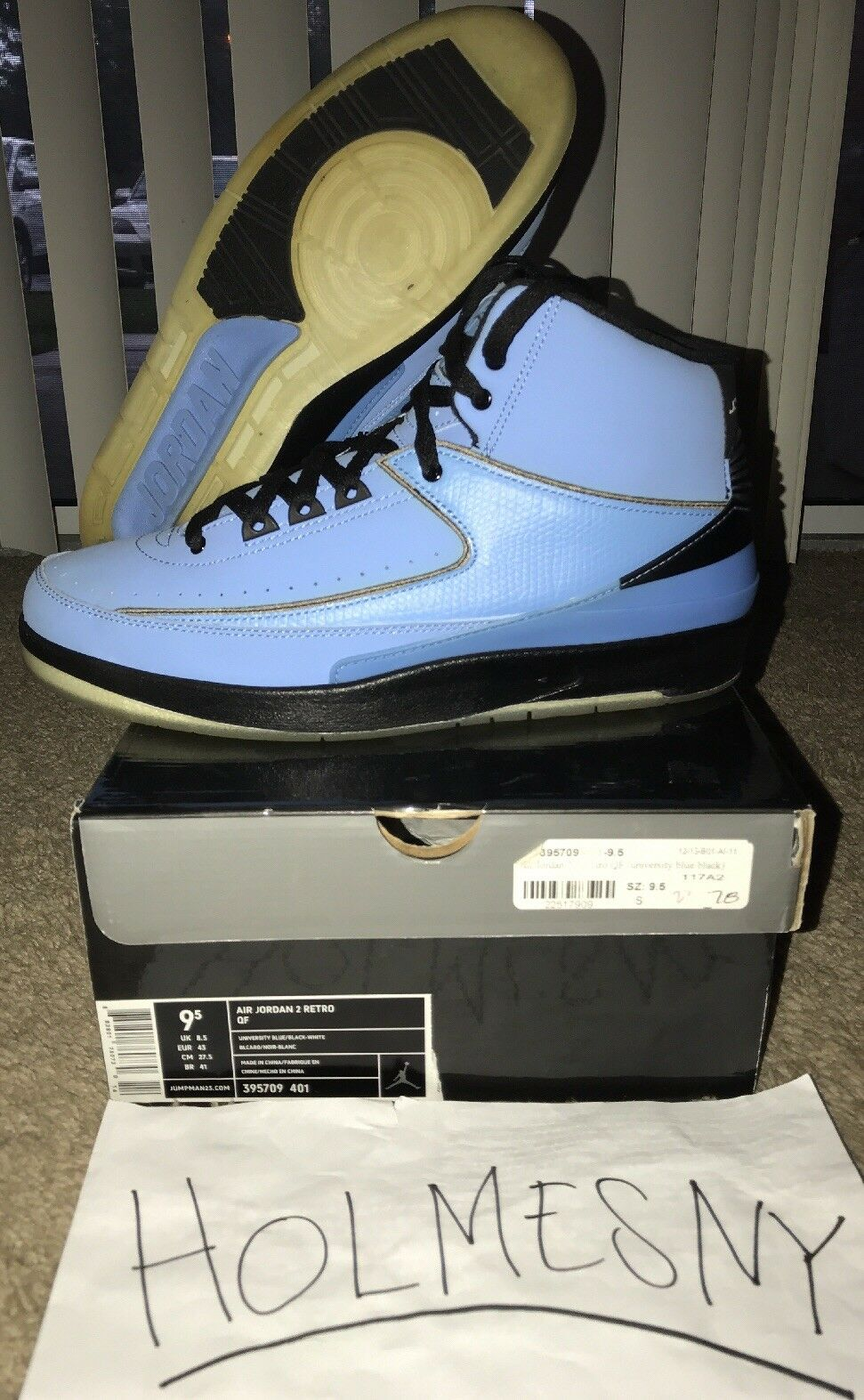 "60353565e13e Air Jordan Jordan Jordan 2 Retro QF ""Candy Pack"" Carolina bluee 2010  release."