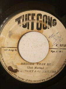 Bob-Marley-amp-The-Wailers-Redder-Than-Red-7-034-Vinyl-Single-1971