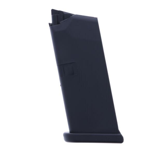 Glock 43 9mm 6 Round Factory Magazine Black Polymer MF43106 G43