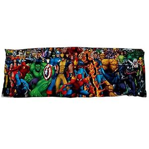 Super Heroes Body Pillow Case Cover Dakimakura Marvel
