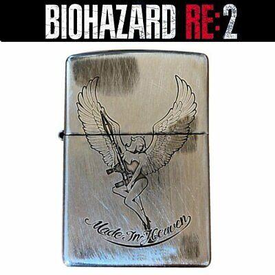 Zippo Biohazard Resident Evil 2 Re 2 Made In Heaven Lighter Silver