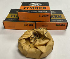 Timken 02820 Tapered Roller Bearing Cup Lot Of 3 Nos