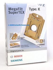 original bosch siemens staubsaugerbeutel typ k 468265 bbz41fk vz41afk ebay. Black Bedroom Furniture Sets. Home Design Ideas