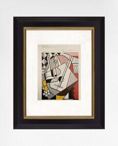 Roy-Lichtenstein-1981-Original-Print-Hand-Signed-with-Certificate-Resale-5-850